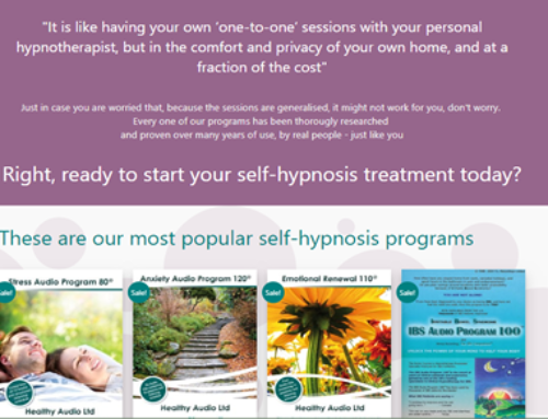 Healthy Audio: Hypnotherapy Programs